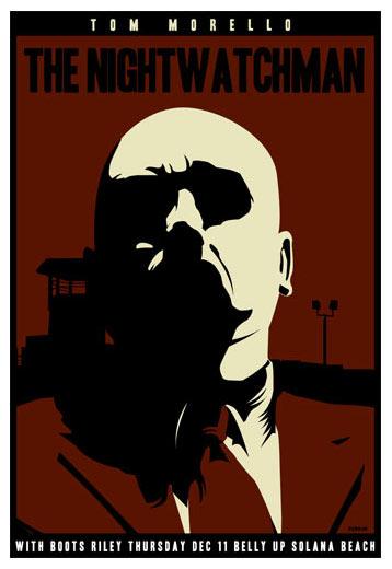 Scrojo Tom Morello (of Rage Against the Machine) Poster