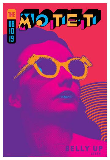 Scrojo The Motet Poster