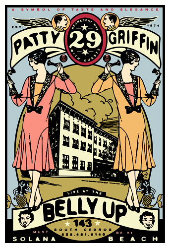Scrojo Patty Griffin Poster