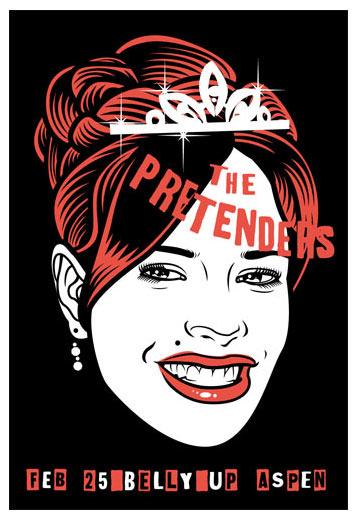 Scrojo Pretenders Poster