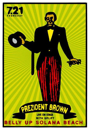 Scrojo Prezident Brown Poster
