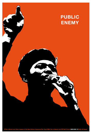 Scrojo Public Enemy Poster