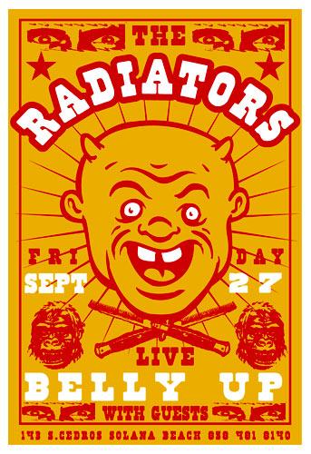 Scrojo The Radiators Poster
