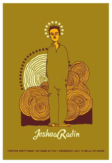 Scrojo Joshua Radin Poster