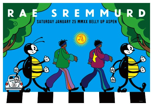 Scrojo Rae Sremmurd Poster