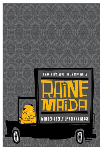 Scrojo Raine Maida ( Our Lady Peace ) Poster