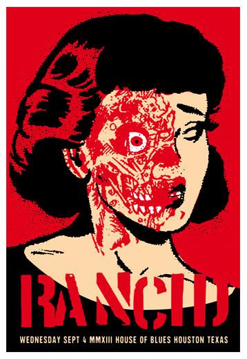 Scrojo Rancid Poster