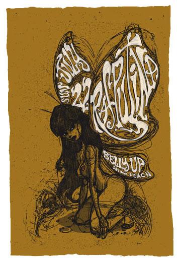 Scrojo Rasputina Poster