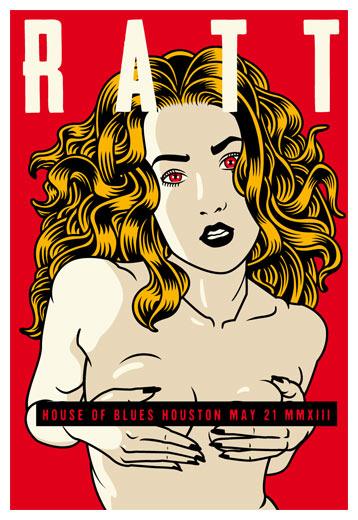 Scrojo Ratt Poster