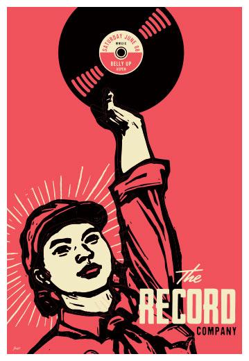 Scrojo The Record Company Poster