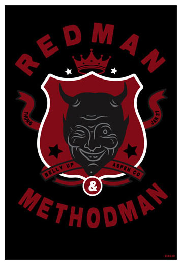 Scrojo Redman and Methodman Poster