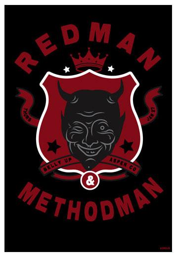 Scrojo Redman and Method Man Poster