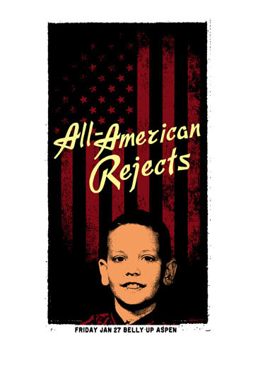 Scrojo All-American Rejects Poster