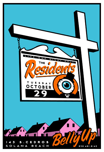 Scrojo The Residents Poster
