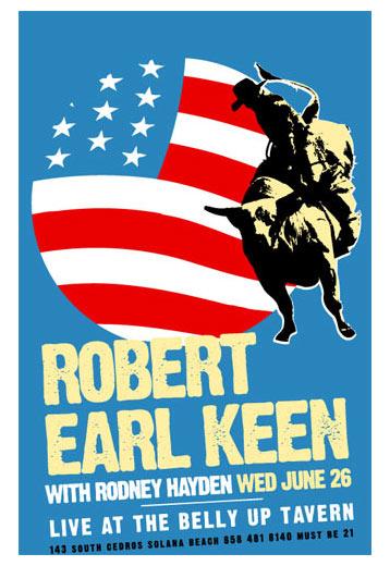 Scrojo Robert Earl Keen Poster