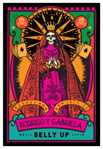 Scrojo Rodrigo Y Gabriela Poster