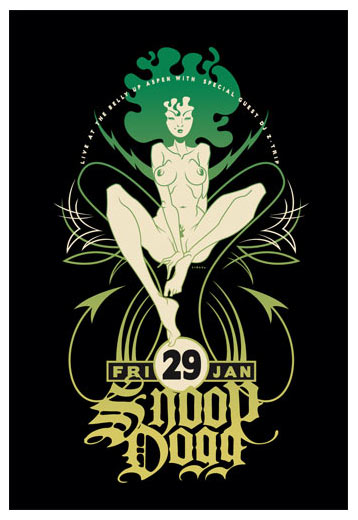 Scrojo Snoop Dogg Poster