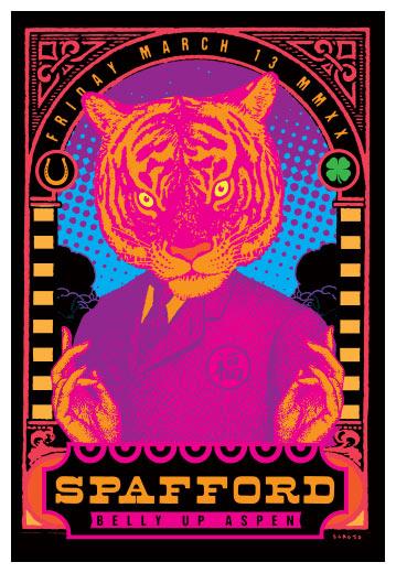 Scrojo Spafford Poster