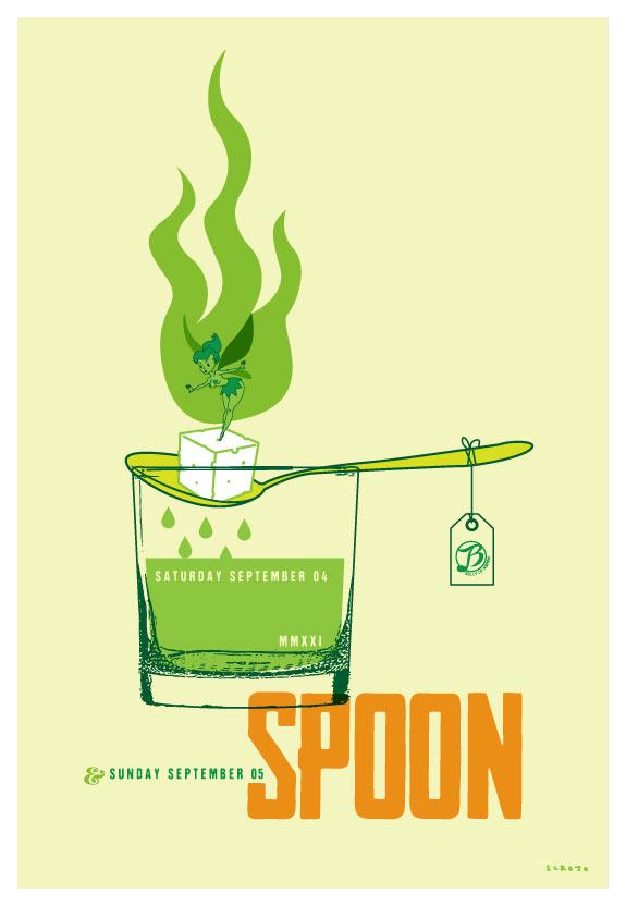 Scrojo Spoon Poster
