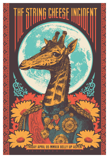 Scrojo The String Cheese Incident Poster