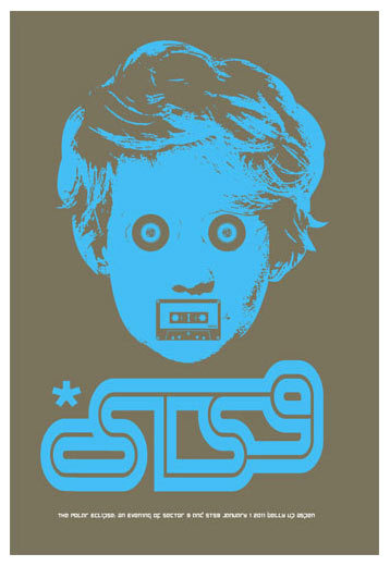 Scrojo STS9 (Sound Tribe Sector 9) Poster