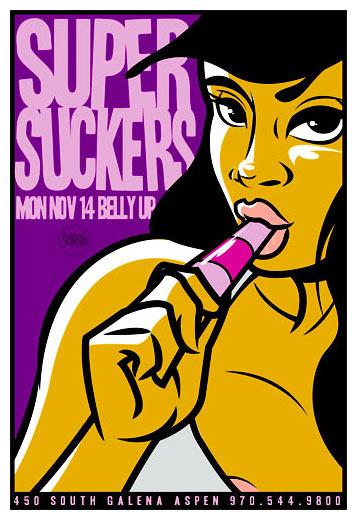 Scrojo Supersuckers Poster
