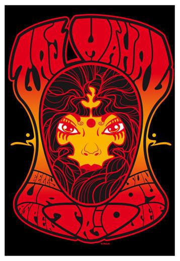 Scrojo Taj Mahal Trio Poster