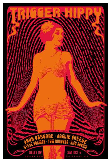 Scrojo Trigger Hippy Poster