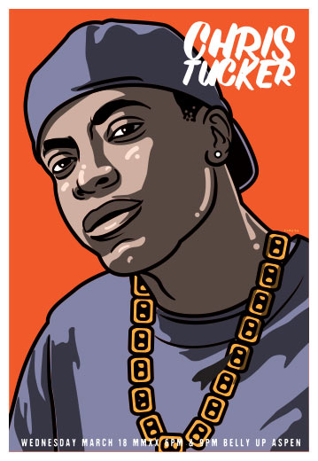 Scrojo Chris Tucker Poster
