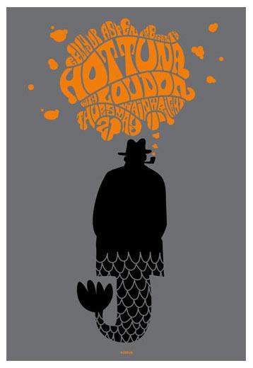 Scrojo Hot Tuna Poster