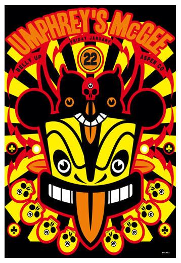 Scrojo Umphrey's McGee Poster