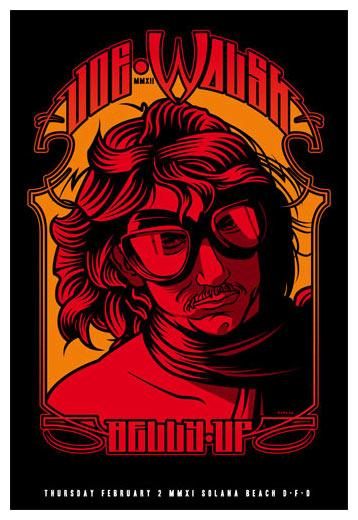 Scrojo Joe Walsh (of Eagles fame) Poster