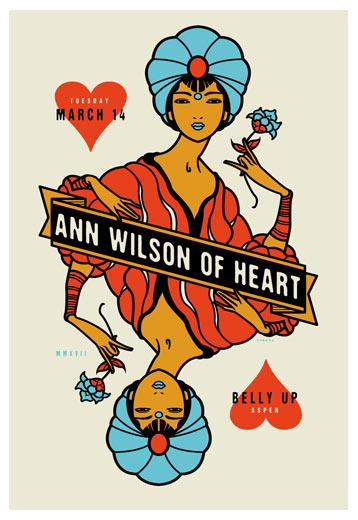 Scrojo Ann Wilson (of Heart) Poster