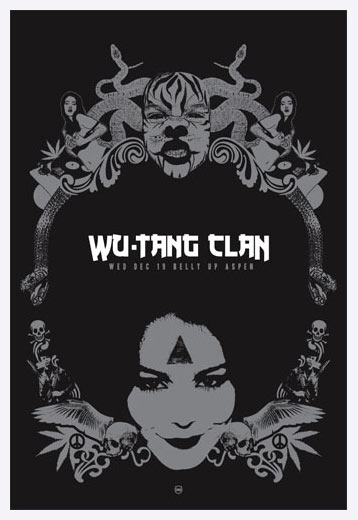 Scrojo Wu-Tang Clan Poster