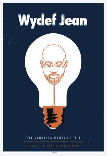 Scrojo Wyclef Jean Poster