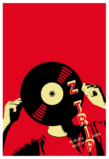 Scrojo DJ Z-Trip Poster