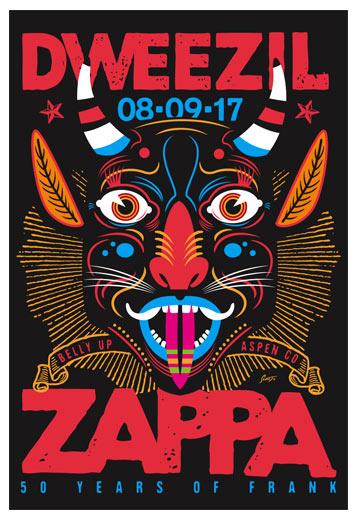 Scrojo Dweezil Zappa Poster