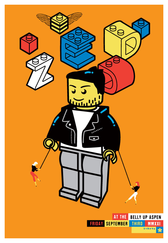 Scrojo Zedd Poster