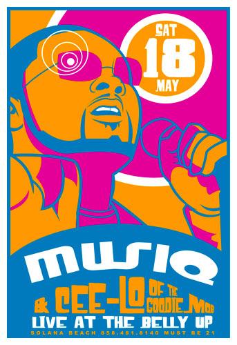 Scrojo Musiq and Cee Lo  Poster