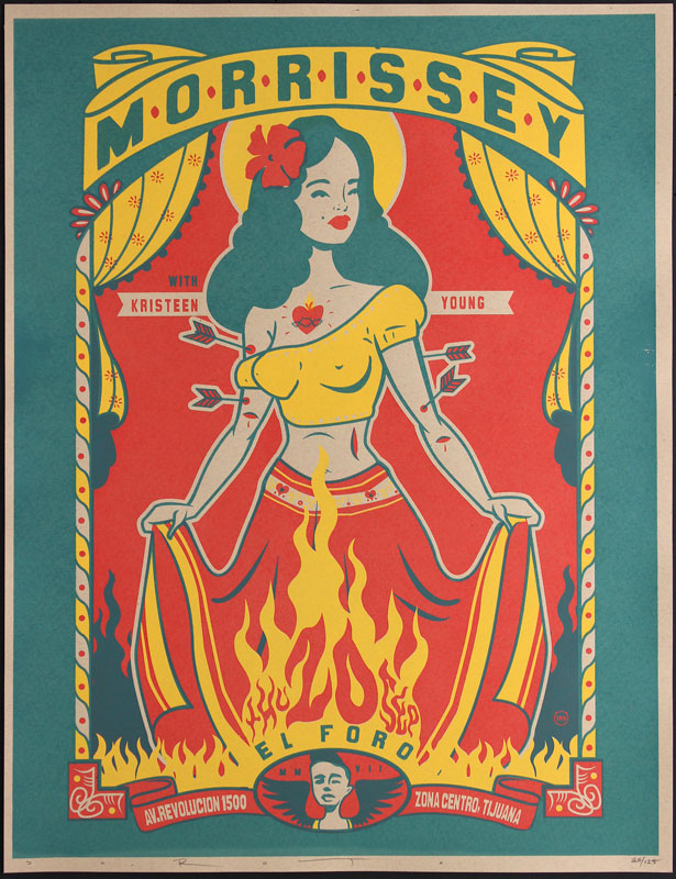 Scrojo Morrissey Tijuana Poster