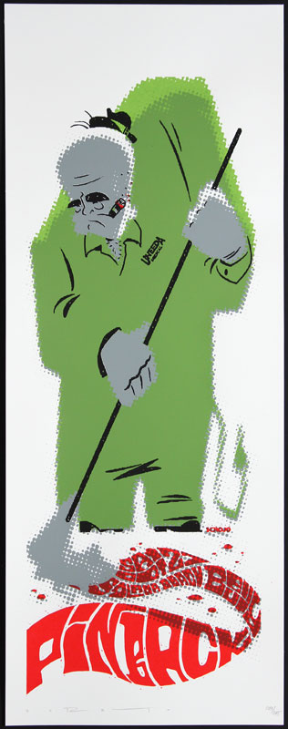 Scrojo Pinback Poster