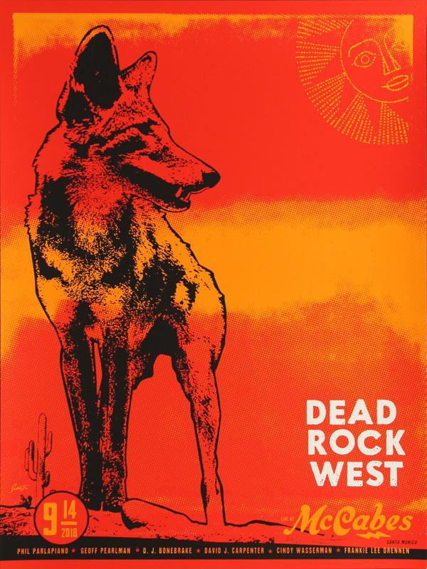 Scrojo Dead Rock West Poster