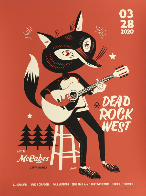 Scrojo Dead Rock West Poster