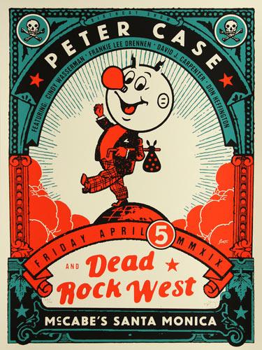 Scrojo Peter Case Poster