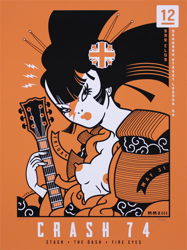 Scrojo Crash 74 Poster