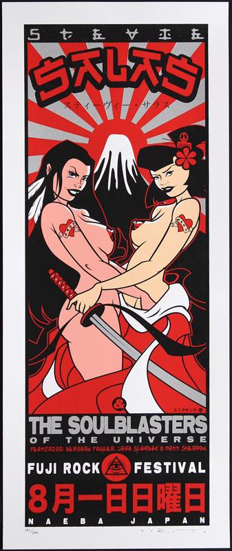Scrojo Stevie Salas Poster
