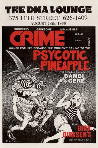 John Seabury Crime Poster