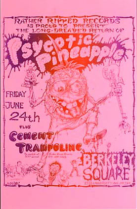 John Seabury Psycotic Pineapple Returns Poster