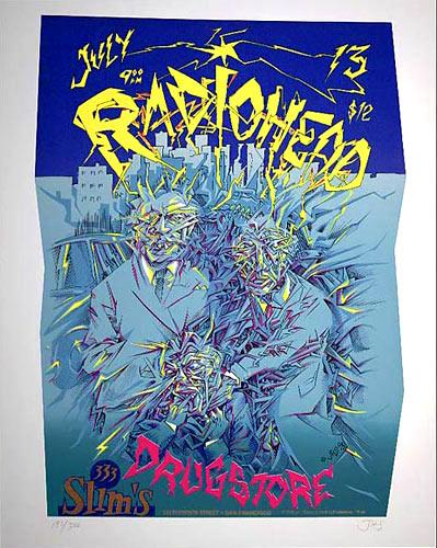 John Seabury Radiohead Poster