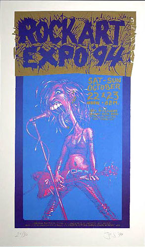 John Seabury Rock Art Expo '94 Poster